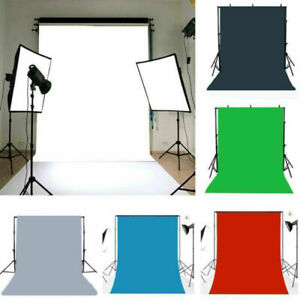 Pure Color Photography Background Photo Props Backdrop 3x5/5x7ft 6 Choices