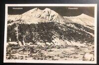 1939 Davos platz Switzerland RPPC Postcard Cover To Zurich Parsennbahn View