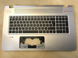 NEU HP Envy 17-k, 17-k251na Handauflage + DE deutsche Tastatur mit Hintergrundbeleuchtung 763935-041