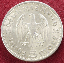 Germany 5 Reichsmark 1936 A (C1802)
