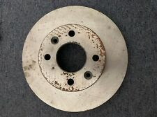 Drivemaster DMD180 Front Brake Discs x2 247mm Diameter Solid 10mm Thickness