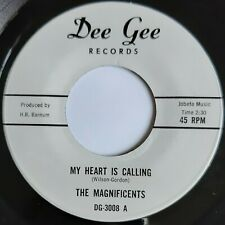 MAGNIFICENTS - My Heart Is Calling - DEE GEE - US 45 - NORTHERN SOUL - 70's ri