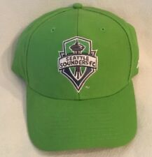 Seattle Sounders FC Adidas MLS Team Structured Adjustable Hat Soccer Futbol Cap