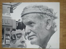 Sam Peckinpah: CROSS OF IRON 8x10 Candid WWII STEINER #7 Peckinpah behind camera