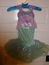 Disney Glitter Ariel Costume for Girls small new