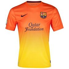 FC Barcelona 2012-13 Soccer Away Jersey Short Sleeves Spanish La Liga League L