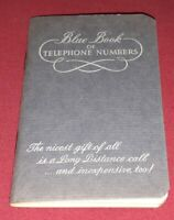 NEW Vintage OHIO BELL Little Blue Address Telephone Phone Book Area Codes PROMO