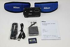 Nikon 2019 Model COOLPIX W300 BK Black Waterproof Digital Camera W300BK F/S
