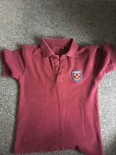 Boys West Ham polo age 5-6 VGC