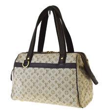 Auth LOUIS VUITTON Josephine PM Hand Bag Monogram Mini Leather M92215 64BS639