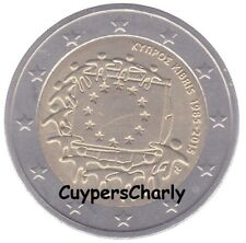 Cyprus 2015 2€ Europese Vlag UNC