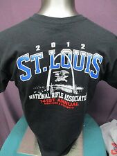 Mens Licensed NRA 2012 St Louis Convention 2-Sided Shirt New L