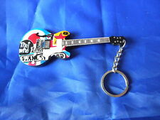 The Who 10cm Wooden Guitar Key Chain