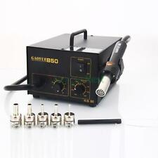 850 SMD Hot Air Electric Rework Soldering Station Desoldering Holder 110V 270W
