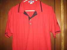 2001 National Jamboree Red Polo Shirt, mens size small     eb05