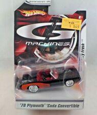 Hot Wheels G Machines 1:50 Scale Diecast '70 Plymouth 'Cuda Convertible NIP 2007