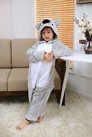 koala Cute  kids costume kigurumi pajamas cosplay  pyjamas