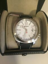 NEW Anonimo Men's Sailor Swiss Automatic Black Leather Watch AM200001002A01