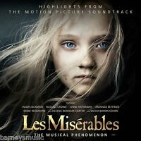 LES MISERABLES ( NEW SEALED CD ) HIGHLIGHTS FROM THE 2012 FILM SOUNDTRACK