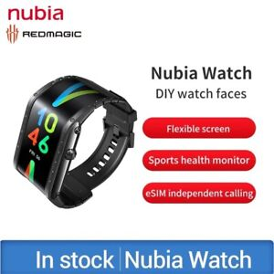"""Nubia Mobile Smartphone Watch 4.01"""" Flexible Curved Screen AMOLED Wrist Snapdrag"""