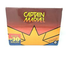 Captain Marvel Loot Crate Beach Towel Lanyard Bookmark Pin $30 Bonus Item NEW