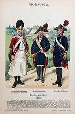 Schweiz Suisse Schwyz Uniform Bern Grenadier Zimmermann Artillerie Leutnant