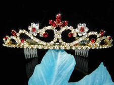 Tiara de novia de color principal oro
