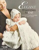 Elegant Ensembles to Knit Vol. 1 Judy Lamb Book Heirloom Christening Sets LA4090