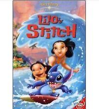 DISNEY DVD Lilo e Stitch - 1° ed. BV triangolo rosso olo tondo