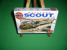 Maquette AIRFIX 1/72 WESTLAND SCOUT