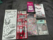 Temp Tattoos, stickers, dimensional stickers, cell phone stickers