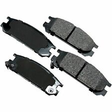 REAR BRAKE PADS FOR SUBARU SEMI METALLIC FITS IMPREZA LEGACY SVX REAR BRAKE PADS