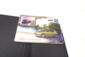 Peugeot 206 Bedienungsanleitung Betriebsanleitung AL042060021
