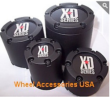 KMC XD Bully 1342000XD Center Cap Black fits 5x135 FORD bolt pattern ONlY