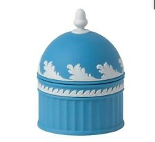 WEDGWOOD JASPERWARE ACORN BOX IN PALE BLUE 51452901864 BRAND NEW IN BOX