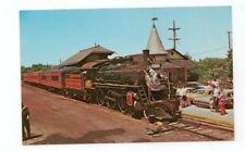 Vintage Railroad Train Post Card New Hope & Ivyland RR Pennsylvania