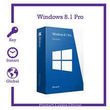 Genuine Microsoft Windows 8.1 Pro Professional 32/64bit Product Activation Key