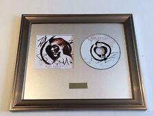 SIGNED/AUTOGRAPHED RISE AGAINST -THE BLACK MARKET FRAMED CD FRAMED PRESENTATION.