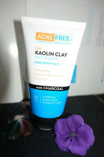 Acne free kaolin clay detox mask pore purigying 2 in 1 with charcoal