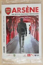 2017/18 ARSENAL V BURNLEY FOOTBALL PROGRAME (6/05/2018) *WENGERS LAST HOME GAME*