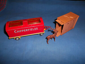 Chipperfields Zirkus Wagen Animal Cage Anhänger Transporter + Raubtier Käfig