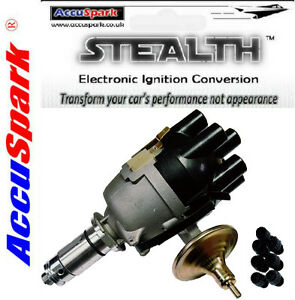 AcuuSpark 22/25D6 Points Distributor with Screw Top for Jaguar E-Type & MKII