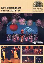 BIRMINGHAM ROYAL BALLET Theatre Flyer Handbill