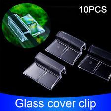 10pcs Aquarium Multifunctional Fish Tank Support Holder Acrylic Glass Cover Clip