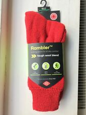 HJ Hall Rambler Walking Outdoor Socks HJ 800 6 to 11 Red