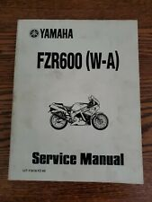 Yamaha Fzr600 (w-a) 1990 Service Manual motorcycle sport bike