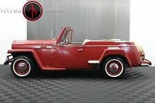 1950 Willys Jeepster Rare I6 Motor! Continental Kit! Overdrive!