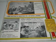 RIVAROSSI RARISSIMO CATALOGO 1966 20° ANNO DI ATTIVITA'