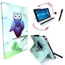 10.1 360 Zoll Eule Tablet Hülle - Apple iPad Pro 9.7 Tasche - motiv Blau Eule