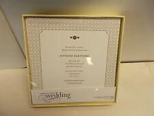 4 Boxes of Printable Wedding Invitations. 25 invs p/box.  Varnish Branch  N422